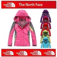 The North Face 北臉 TNF 戶外衝鋒衣 防風防水 運動風衣外套 連帽外套 夾克 軟殼抓絨衣 女款風衣外套