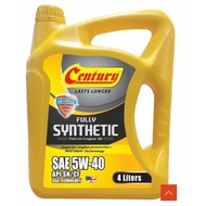 CENTURY ENGINE OIL SAE 5W-40 FULLY SYNTHETIC