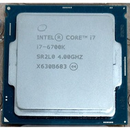 Intel core i7-6700K LGA1151 CPU 附原廠銅底風扇