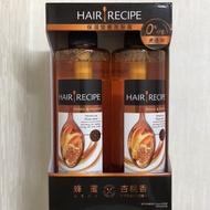 (降價)costco 代購 HAIR RECIPE 蜂蜜 杏桃香 洗髮露 530ML X2