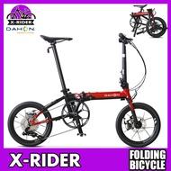 Dahon k3plus 16 inch mini folding bicycle ultra light speed disc brake bike adult male and female folding bicycle
