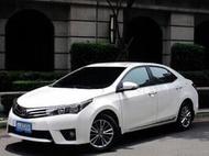 國民神車 銷售no.1 跑8萬 剛做完7萬公里大保養 全新電池 2014 TOYOTA New Corolla ALT