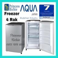 Kulkas Freezer Asi es batu Aqua Sanyo 4 Rak