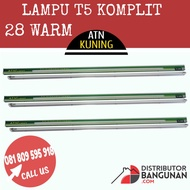 Complete T5 Lights 28 W Warm Atn Yellow