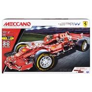 【MECCANO】(認證S.T.E.M.) 金屬組裝模型 - 法拉利 F1賽車組