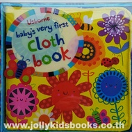 Babys Very First Cloth Books (yellow)