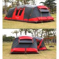 超級移動城堡 Torpedo7 充氣帳篷 2房1廳 可變3房 吊掛內帳 TPU氣柱 充氣帳 770x490cm 家族露營