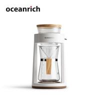 Oceanrich เครื่องทำกาแฟดริปอัตโนมัติ,เครื่องทำกาแฟแบบใช้มือหมุนเครื่องชงกาแฟแบบพกพาสำหรับใช้กรองกาแฟ2ถ้วย