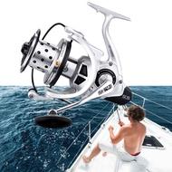 5000~10000 Size Fishing Reel Carp Spinning Reel Metal Spool Big reel 25KG Max Drag