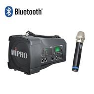 MIPRO MA-100SB 迷你肩掛式無線喊話器藍芽最新版