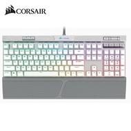 (限量低價促銷) 海盜船Corsair K70 RGB MK.2 SE 機械式電競鍵盤-銀軸(英文電競鍵盤)