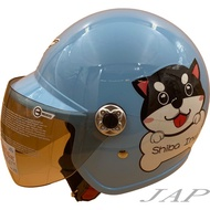 THH F-200Y MO哞 粉藍 童帽 小朋友安全帽 附抗UV鏡片兒童安全帽