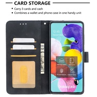 Cases Sumsung Galaxy A51 Case Magnetic Flip Cover Galaxy A 51 Shockproof Leather Case Samsung A51 Wallet Coque
