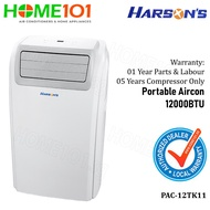 【Same Day Delivery】Harsons Portable Aircon 12000BTU PAC-12TK11
