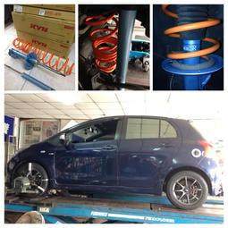 【童夢國際】日本 KYB NEW SR 藍筒避震器 / TOYOTA WISH 專用 (04-09) 藍桶