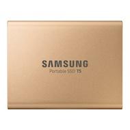 SAMSUNG  T5 500GB USB3.1外接SSD固態硬碟(金)
