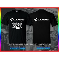 Cube Bike T-Shirt Cube Bike Garmin Gps Fox Mens Biker Bicycle T-Shirt Birthday Gift