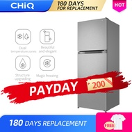 CHiQ CTM05DI 5 cu. ft. Magic Freezing Two Door Direct Cool Refrigerator Adjustable Shelves Ice Maker Box 40L Huge freezer Dual Temperature Zones 4 Star Freezer Energy Saving and Low Noise Save Electricity [10 Years compressor Warranty]