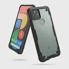 Rearth Google Pixel 5 (Ringke Fusion X) 高質感保護殼黑