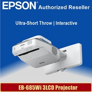 [Local Warranty] Epson EB-685Wi Ultra-Short Throw Interactive WXGA 3LCD Projector