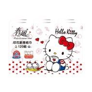 Andante春風 廚房紙巾-Kitty美國風120組x6捲/串