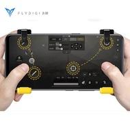 Original Flydigi Stinger จอยควบคุมเกมซ้ายขวา Gamepad Trigger CapAir Mapping สำหรับ  call of duty mobile  PUBG Fortnite เกมสำหรับ iPhone Android