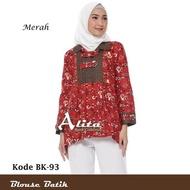 Blouse Batik Wanita Atasan Batik Wanita Baju Batik Wanita Modern