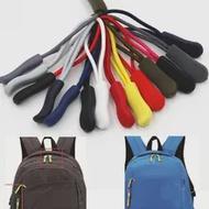 10PC ซิปดึง PULLER End Fit เชือก: Fixer สายซิป TAB เปลี่ยนคลิปหัวเข็มขัดกระเป๋าเดินทาง CAMPING กระเป๋าเป้สะพายหลัง