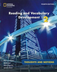 Reading and Vocabulary Development 2 4/e: Thoughts & Notions