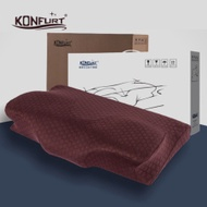 Konfurt Sleep Neck Guard Memory Foam Pillow Neck Pillow Adult Health Pillow Neck Pillow Memory Foam