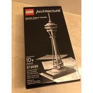 LEGO樂高21003 《建築系列》西雅圖太空針塔《免運》