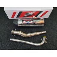Apido Pipe Xrm125 Carbtype/Fi