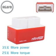 Reayb Nitro OBD2 Performance Chip Tuning Box Plug Drive For Cars