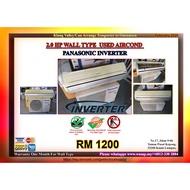 Panasonic Inverter 2.0HP Wall Type Used Aircond 8139