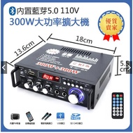 110V擴大機 小型12V功放機 300W大功率 真空管擴音機