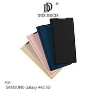 【愛瘋潮】99免運  手機殼 DUX DUCIS SAMSUNG Galaxy A42 5G SKIN Pro 皮套 可插卡 可站立 手機殼 手機套