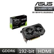 【ASUS 華碩】TUF GeForce GTX 1660 SUPER O6G Gaming 顯示卡