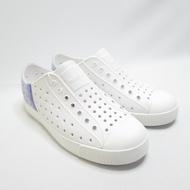 Native JEFFERSON BLOCK JUNIOR 中童洞洞鞋 121001028873 白紫【iSport】