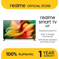 """realme Smart Android 43"""" TV   Full HD Resolution with Chroma Boost Engine   24W Quad Speakers"""
