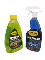【BUNDLE DEAL】Cyber Snow Wash Car Shampoo + Glass Cleaner