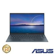 ASUS UM425UA 14吋筆電 (R7-5700U/16G/512GB SSD/ZenBook 14/綠松灰)