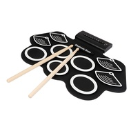 Electronic Drum Set for Kids Electronic Drum Set Adult Beginner Portable Roll Up Electronic Drum Kit Gift for Kids