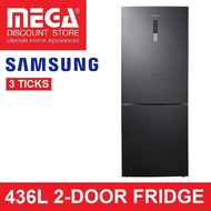 SAMSUNG RL4354RBABS 436L 2-DOOR FRIDGE (3 TICKS)