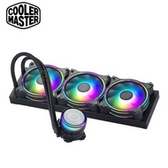 CoolerMaster酷碼 MasterLiquid ML360 ILLUSION一體式水冷 (MasterFan MF120 Halo風扇*3/兩年保固/漏液損壞賠償)