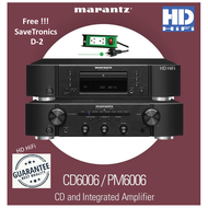 Marantz CD6006 + PM6006 HiFi System