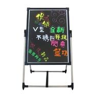電子螢光板50 70 手寫led廣告牌瑩光閃光夜光發光屏寫字支架黑板WD  電購3C