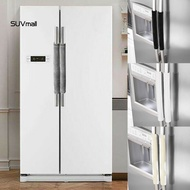 ★SUV★2Pcs Velvet Home Microwave Oven Refrigerator Fridge Door Handle Protective Cover