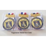 Sunglasses❏Kagawaran Medal 6cm Gold Silver Bronze