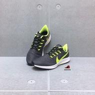 NIKE ZOOM PEGASUS 36 男款 慢跑鞋 黑灰螢綠 透氣 CJ8017-071 Sneakers542