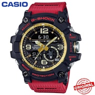 【Ready Stock】Casio G-SHOCK GG-1000 MUDMASTER Red Mens Watch Men Sport Watches